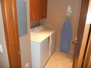 Puerto Penasco condo photo - Laundry with full size Washer/Dryer and utility sink.