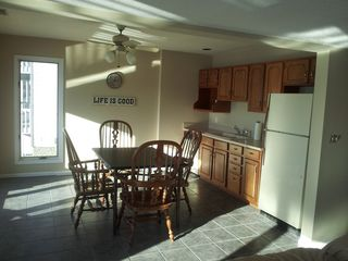 Lake Ozark house photo - Lower Floor Dining Area and Kitchenette