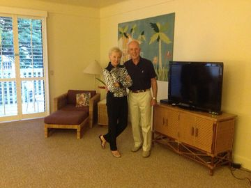Poipu condo rental - Volker and Gina Bauerle - owners of Kiahuna Plantation condo