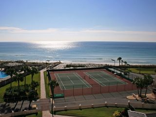 Destin Florida Beach Vacation Condo..view from balcony - Islander Destin condo vacation rental photo