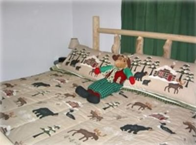 """Moose"" Bedroom King bed"