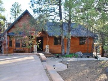 Munds Park cabin rental - Your dream vacation with a REAL Cabin experience. Beautiful 4 bedroom, 3 bath.