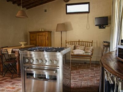 La Casina - Living Room & Kitchen
