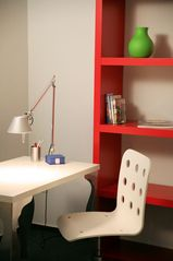 Desk + Shelving with Internet and Printer/Scanner Included - Pankow (Prenzlauer Berg, Weissensee) apartment vacation rental photo