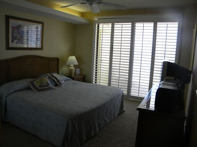 Mater bedroom- open the shutters and escape to the balcony..