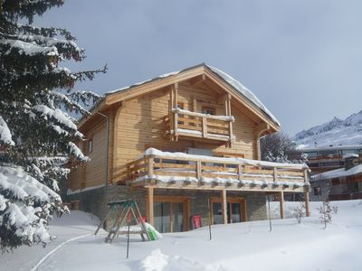 In a typical chalet