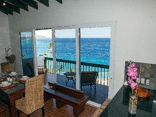 Curacao house photo - Dining area with ocean views