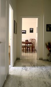 Monte Sacro apartment rental - Entrance hall leading to living-dining room