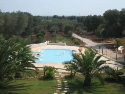 Villa with pool,  immersed in ancient olive groves and few km from the sea