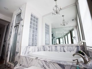 Charleston apartment photo - Master Bath: Steam Shower and Sunken Tub
