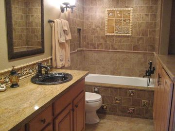 Casa Blanca- Guest Bathroom