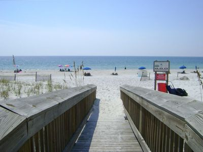 Short Boardwalk to Beach