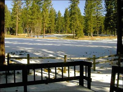 Incline Village townhome rental - Snow Shoe Out Front Door