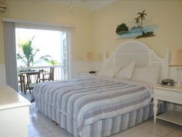 Playa Azul condo rental - Each bedroom has french doors that open to lanai