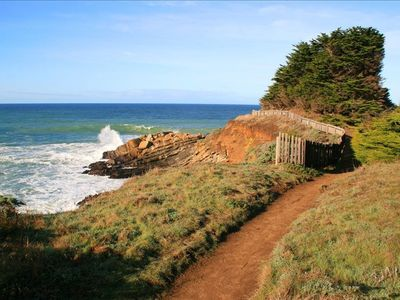 Located on The Bluff Trial, Miles of Hiking Trails and Beach Access
