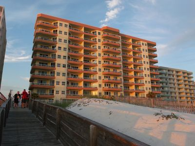 The Enclave from the Boardwalk, Orange Beach Alabama