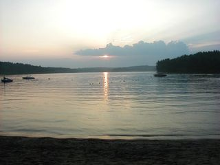 Alton house photo - Lake at Sunset