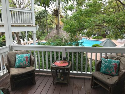 Casa Caribe Tropical Key West Townhome In Gated Community, Sleeps 6
