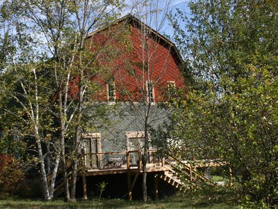 Chester barn rental - Popple Dungeon Barn - Early Fall