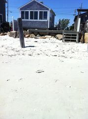 Yarmouth cottage photo - private beach on Nantucket Sound