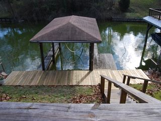 Lighted Boat Slip with Boardwalk - Livingston house vacation rental photo