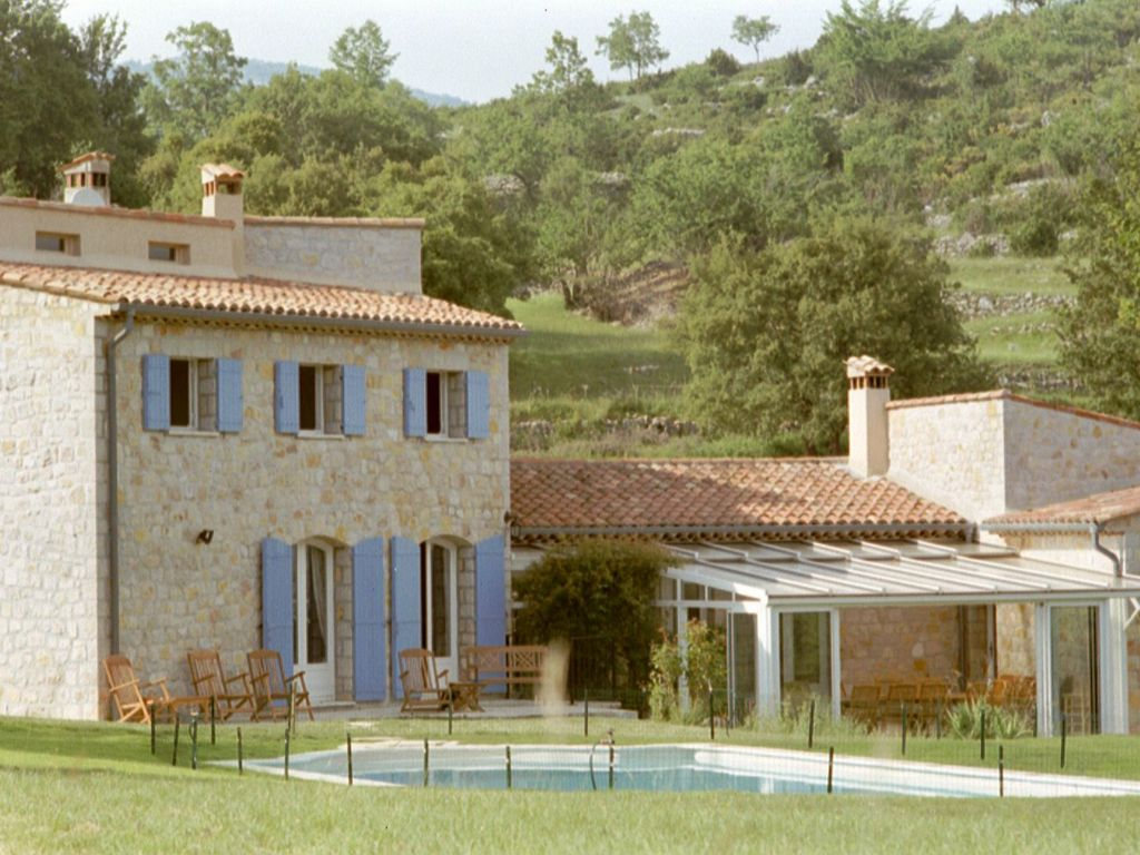 Classic stone farmhouse with heated pool and tennis