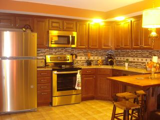 Killington condo photo - Gourmet kitchen includes everything, spices,oils, condiments, Keurig for coffee.
