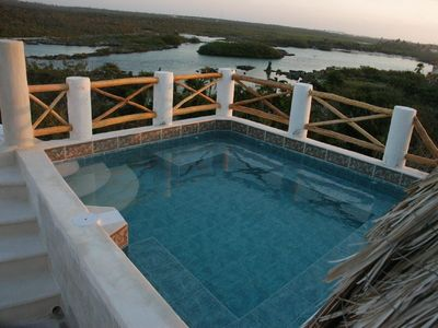 Cool off during the day or watch the stars at night: Rooftop pools (Csa Delfin)