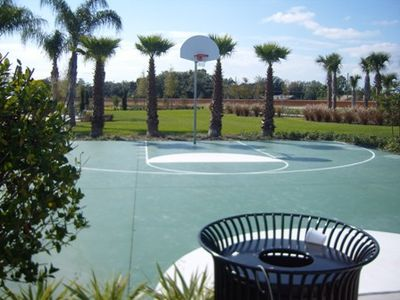 enjoy the fun in the Sun, while you play on the Basket Ball court