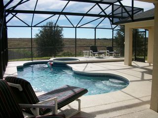 Tuscan Ridge villa photo - Private Pool & Spa.... now this is not overlooked!