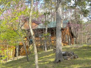 Lake Bob Sandlin lodge photo - Welcome to Our Log Home on Lake Bob Sandlin