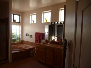 Scottsdale North house photo - Master Bath with Jacuzzi and Partial View of Walk-in Tiled Shower