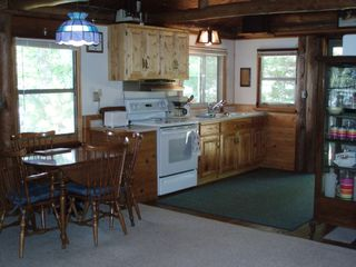 Fifty Lakes cabin photo - Kitchen, Dining