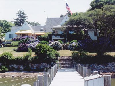 View of house from dock.