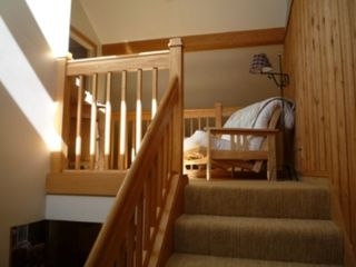 Killington townhome photo - Loft leading to Master Bedroom