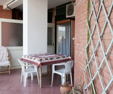 2 Bedroom Sea View Flat with Kitchen and Terrace