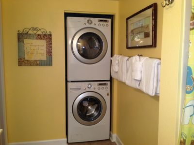 Full Size Washer and Dryer.  Most Units dont have Full Size.