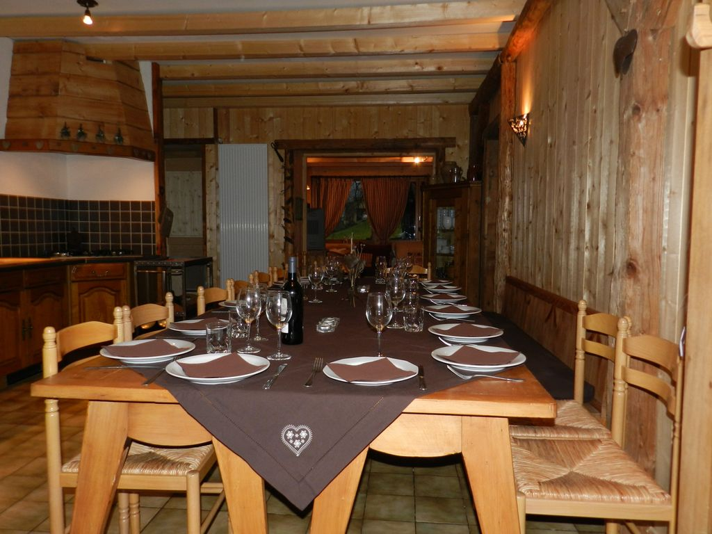 Chalet La Savoyarde: 4-star comfortable chalet for 18 people; 7 ...