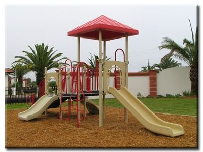 Children's playground nearby