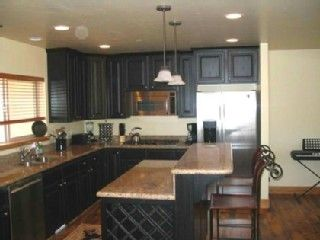 Bear Hollow Village townhome photo - Another View of the Gourmet Kitchen