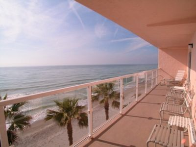 Beautiful Direct Gulf View from our Veranda