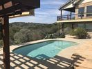 Seasonal Pool, 150' from guest house.  West view, beautiful sunsets.
