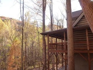 Hot Springs cabin photo - Another beautiful view from the porch.
