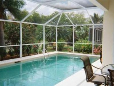Lely house rental - Heated pool