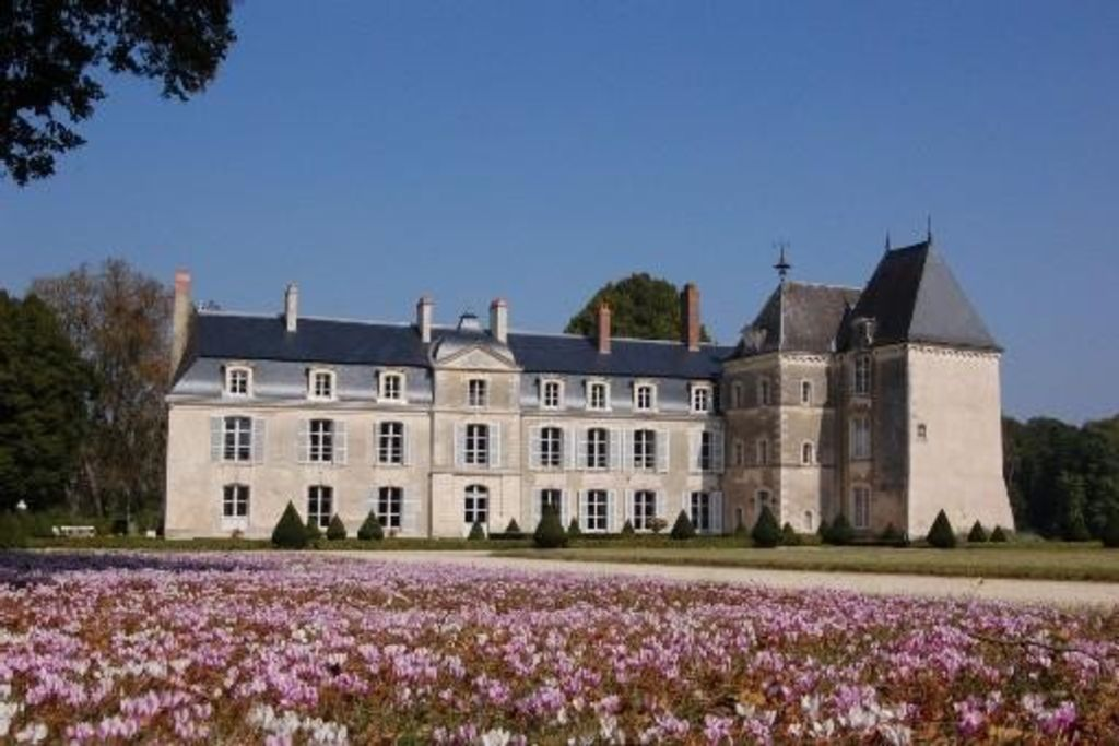 Castle in the Loire Valley in a 30 ha historical park with heated pool