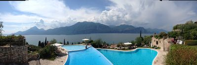 detached house on Lake Garda with stunning views
