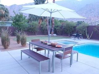 Palm Springs house photo - Outdoor Dining