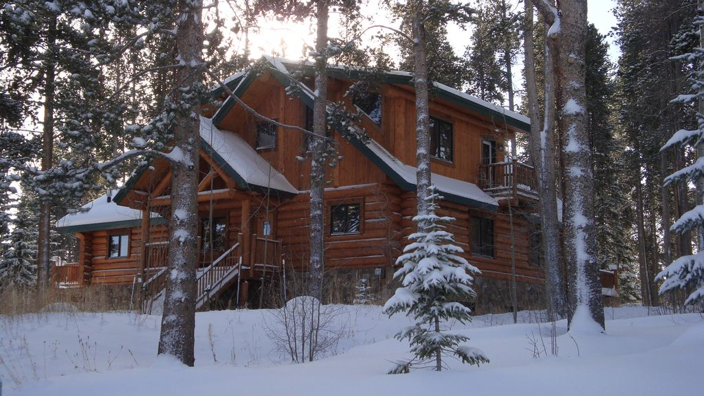 The Bear Cabin Breckenridge Rustic Log Home Vacation