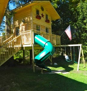 The New Treehouse addition for the kiddies