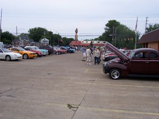 Huron house photo - Classic car show-every Sat. just down the street